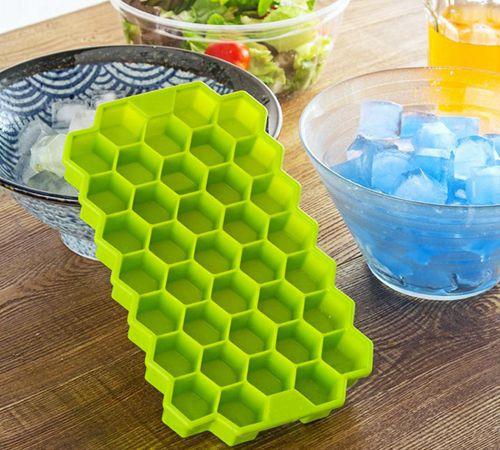 蜂巢硅胶冰盒,创意冰格制冰盒-硅胶厨具