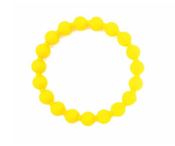 学生硅胶珠子手链饰品运动彩色手链礼品