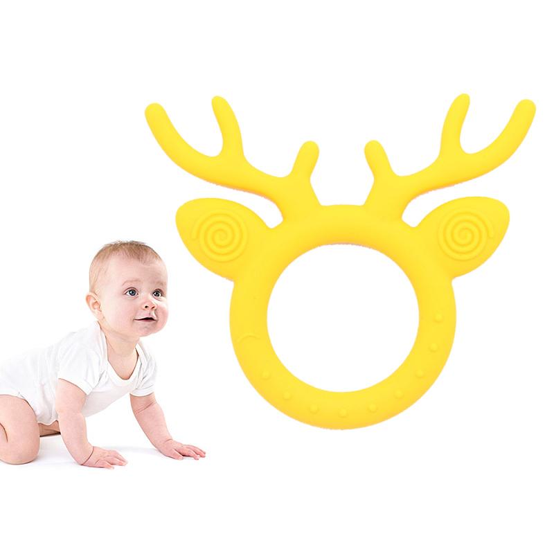 小鹿婴儿牙胶宝宝磨牙棒
