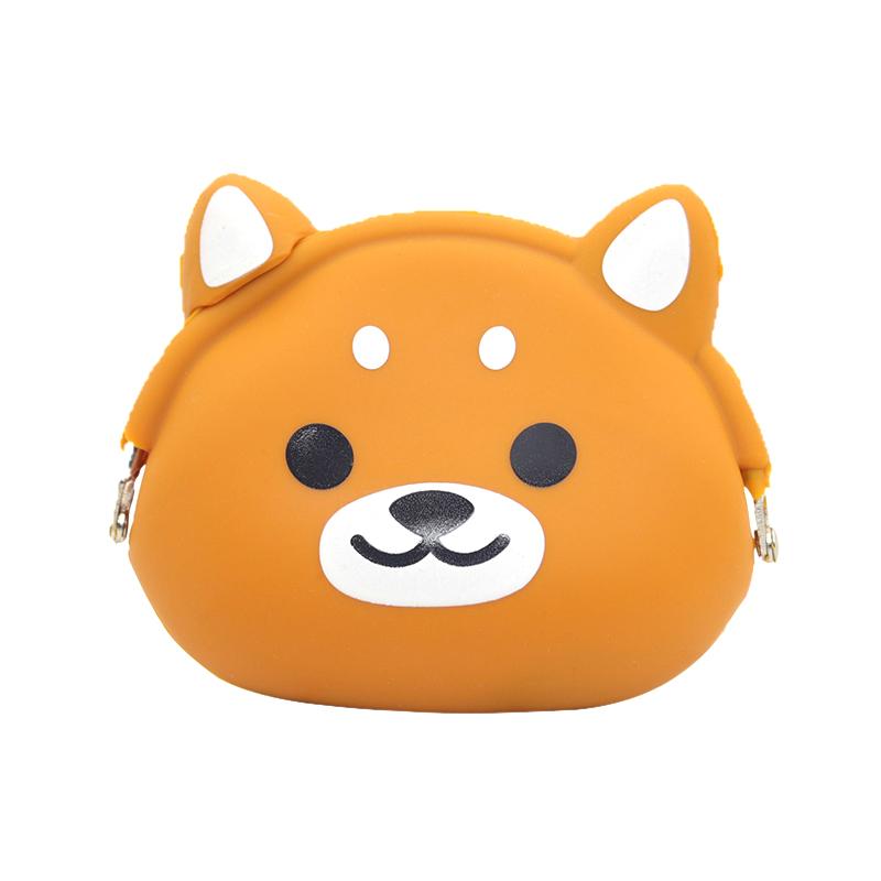 小熊硅胶零钱包-优质小巧零钱包