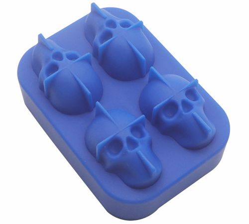 骷颅头硅胶冰格,创意冰盒制冰模具-硅胶厨具