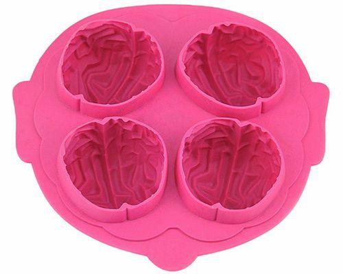 优质硅胶冰格模具,核桃模型冰盒-硅胶厨具