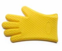 隔热硅胶防热手套,厨房耐高温手套_硅胶用品