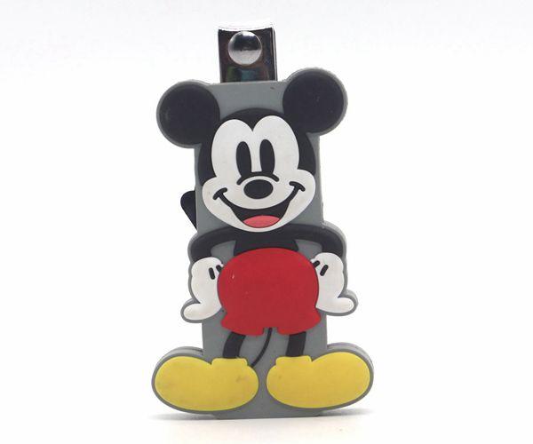 硅胶卡通指甲剪,迪士尼人物钥匙扣_硅胶用品