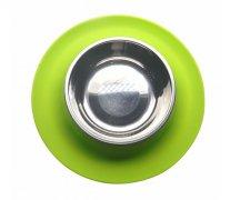 宠物吃饭喝水硅胶碗,防滑防溢出宠物硅胶食盆