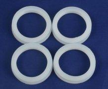 标准透明硅胶圈耐高温太阳能防尘密封件