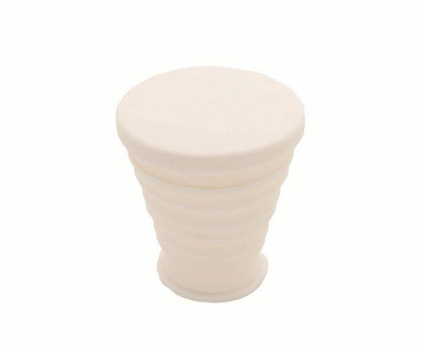 户外旅行硅胶折叠杯便携伸缩硅胶水杯