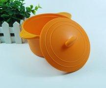 无异味食品硅胶碗耐高温环保硅胶碗盖