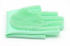 多功能硅胶手套的用途,不仅仅能用来洗碗