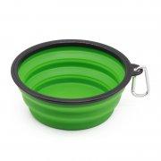 硅胶折叠碗-折叠泡面碗-便携硅胶碗